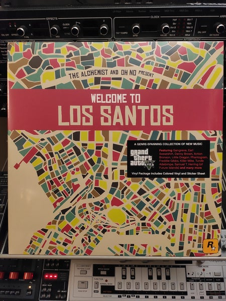 Image of The Alchemist And Oh No ‎– Welcome To Los Santos