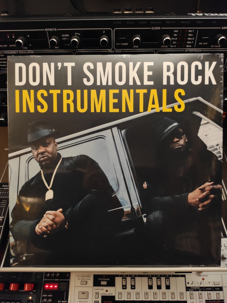 Image of Smoke DZA x Pete Rock ‎– Don't Smoke Rock Instrumentals