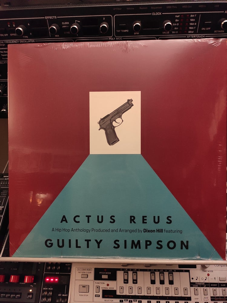 Image of Guilty Simpson And Dixon Hill ‎– Actus Reus