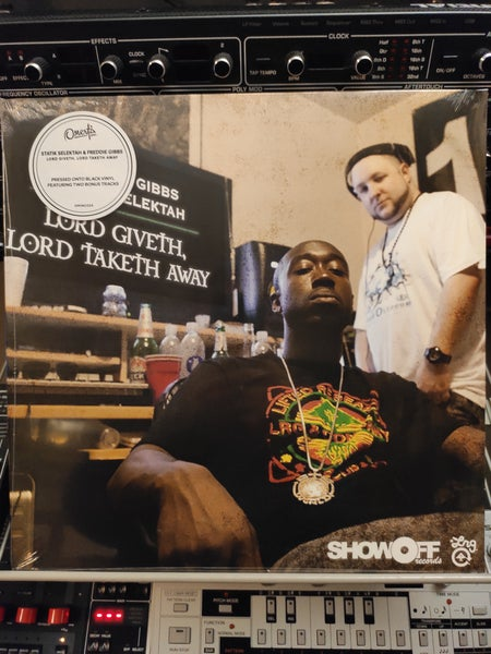 Image of Freddie Gibbs & Statik Selektah ‎– Lord Giveth, Lord Taketh Away