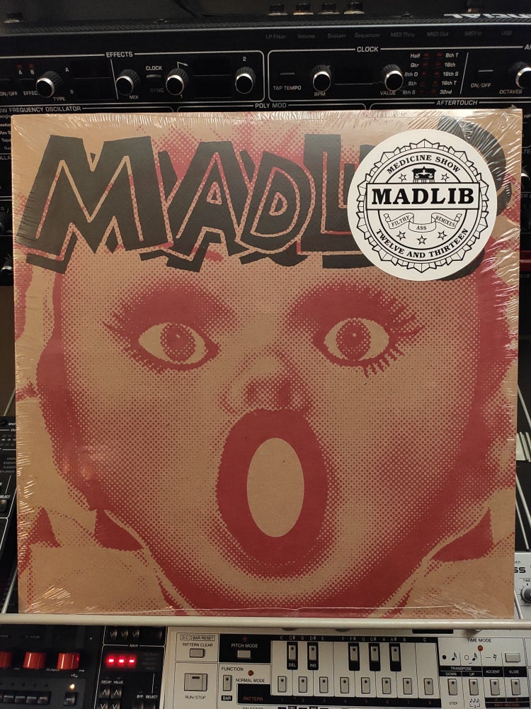 Image of Madlib ‎– Filthy Ass Remixes