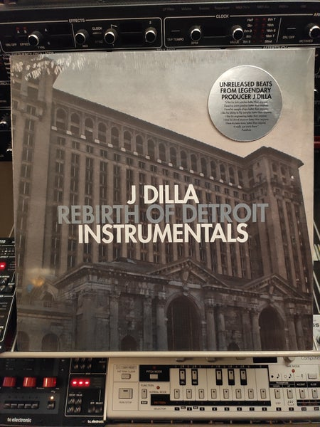 Image of J Dilla ‎– Rebirth Of Detroit Instrumentals