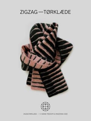 Opskrift / zigzag—tørklæde