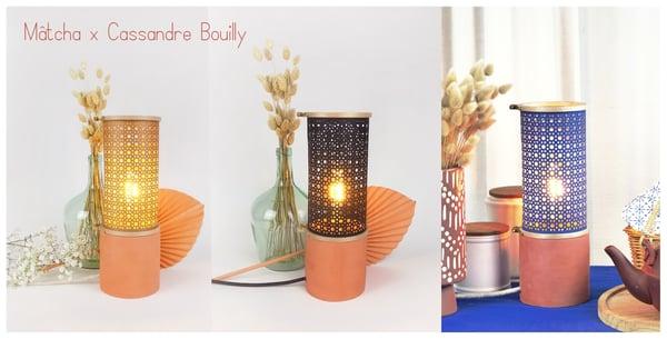 Image of Lampe Cannage & Céramique