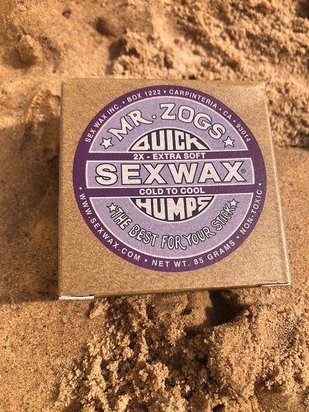 Image of Sex Wax Quick humps Surf Wax
