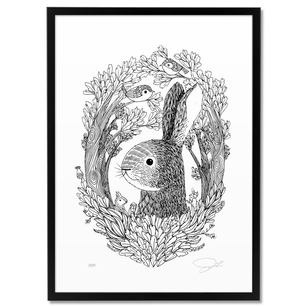 Image of Print: Spring Hare