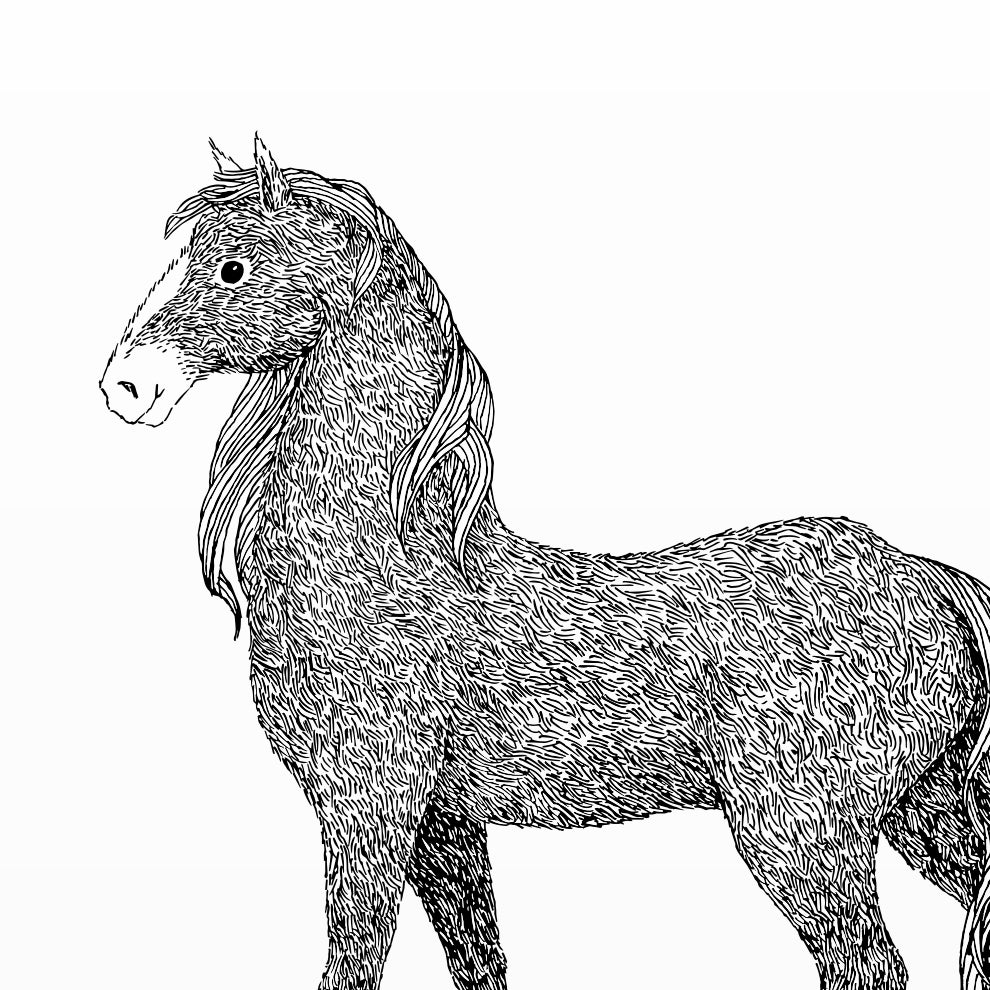 Image of Print: Horse