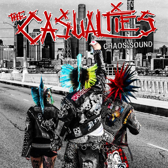 "Image of THE CASUALTIES ""CHAOS SOUND"" CD"