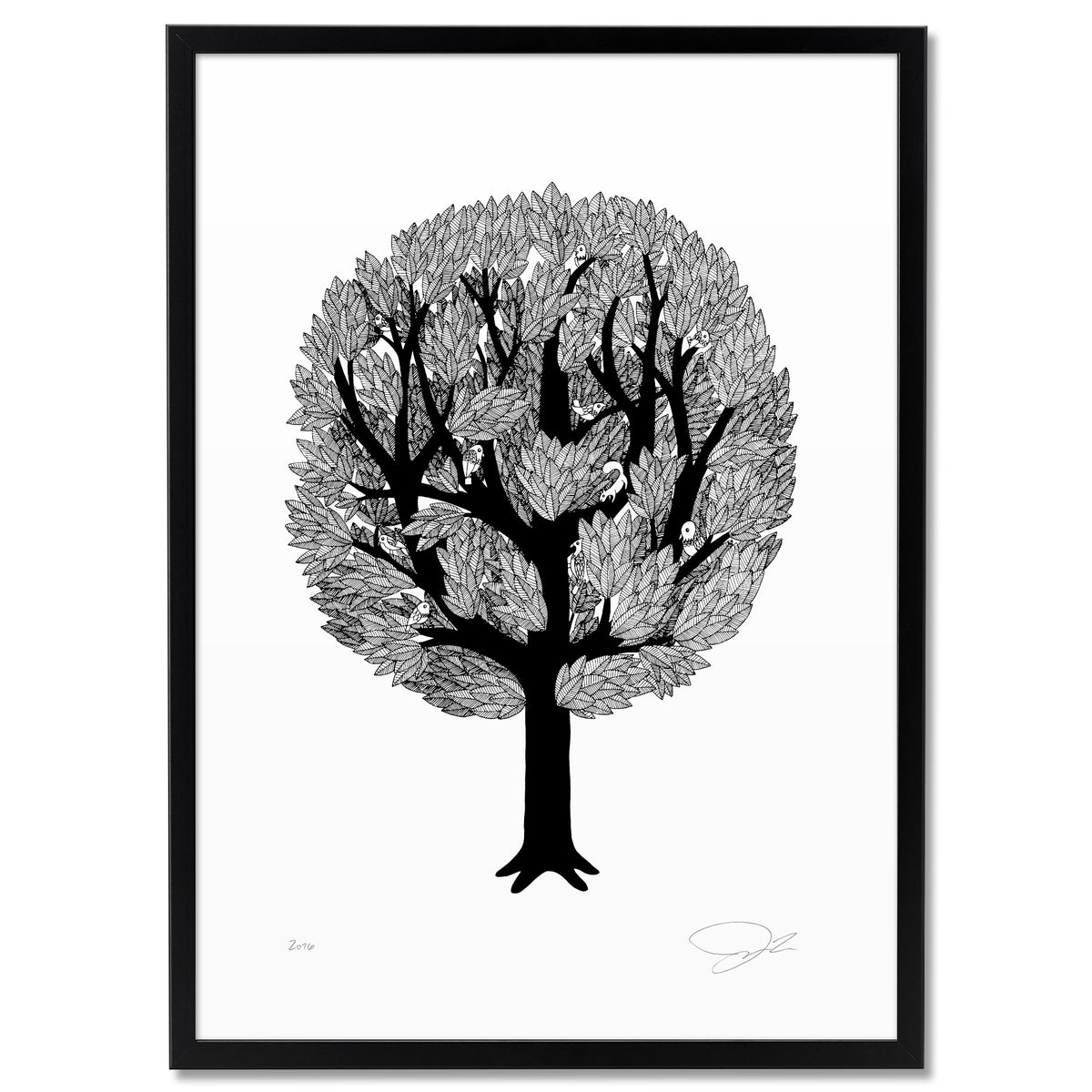 Image of Print: Tree