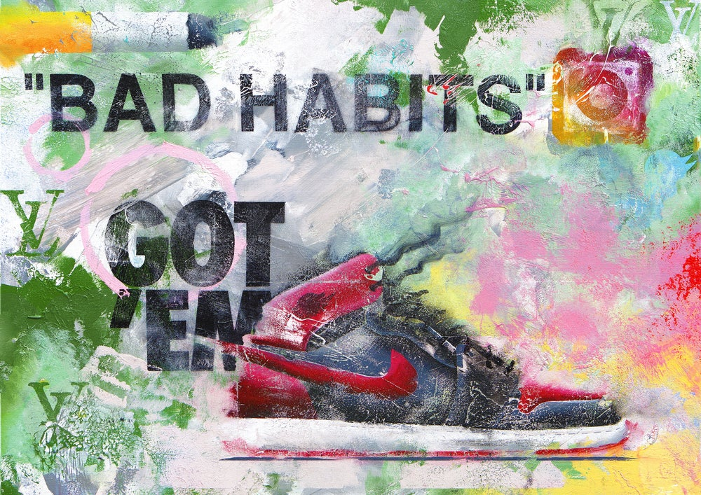 Image of Bad Habits (Limited Edition Print)
