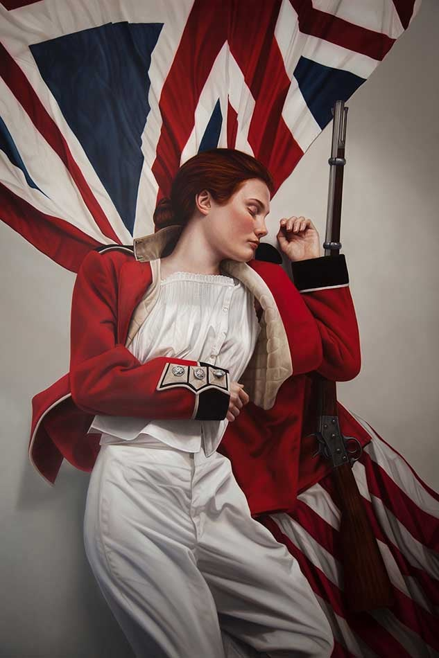 Image of MARY JANE ANSELL - 'LIBERTY SLEEPING' - LIMITED EDITION ARCHIVAL PRINT