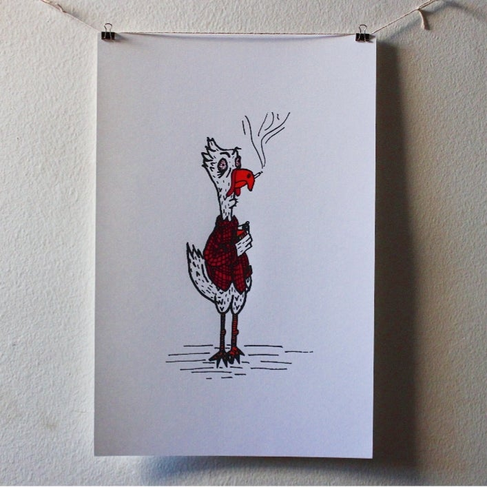 Image of Chicken Poster
