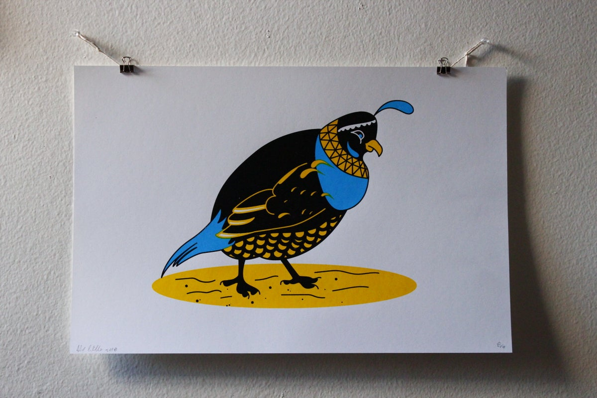 Image of Quail Poster