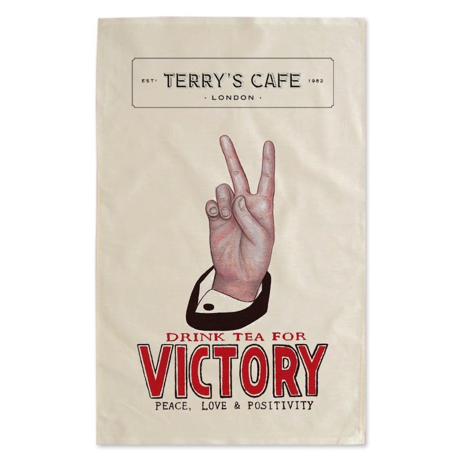 Terry's Fundraising Tea Towel