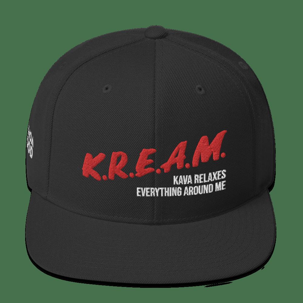 Image of K.R.E.A.M Snapback Hat