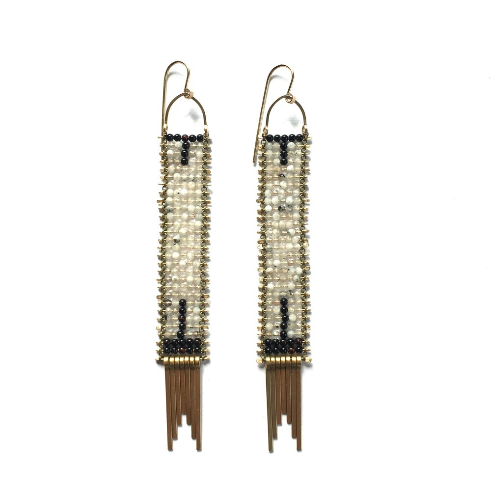 Image of The Architecture of Night and Day Earrings