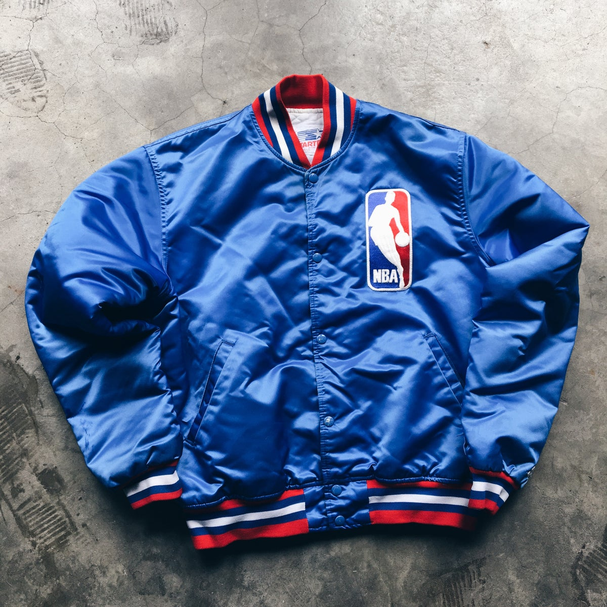 Image of Original Late 80's Starter NBA Referees Jacket.