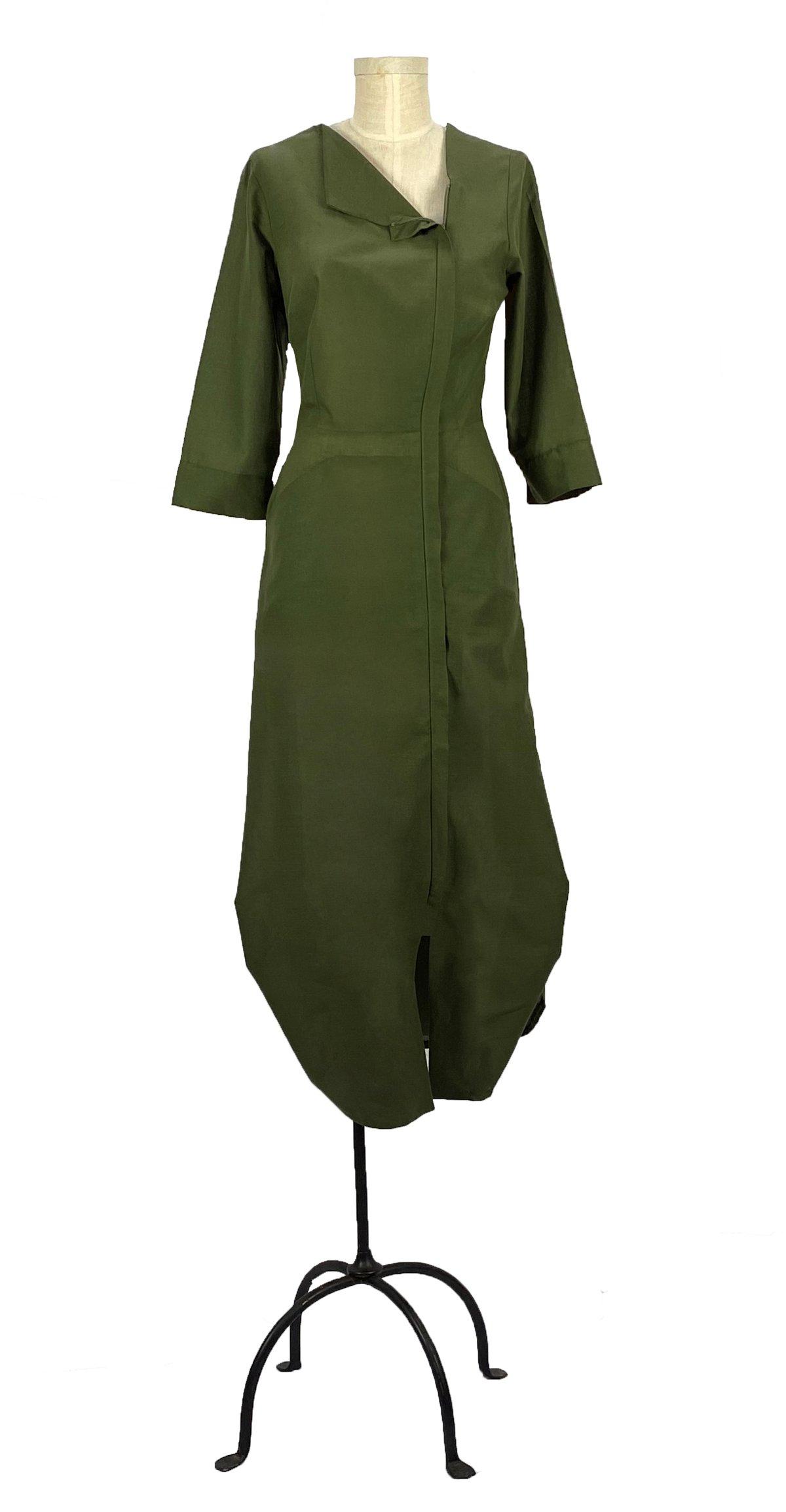 Image of artemisia dress olive