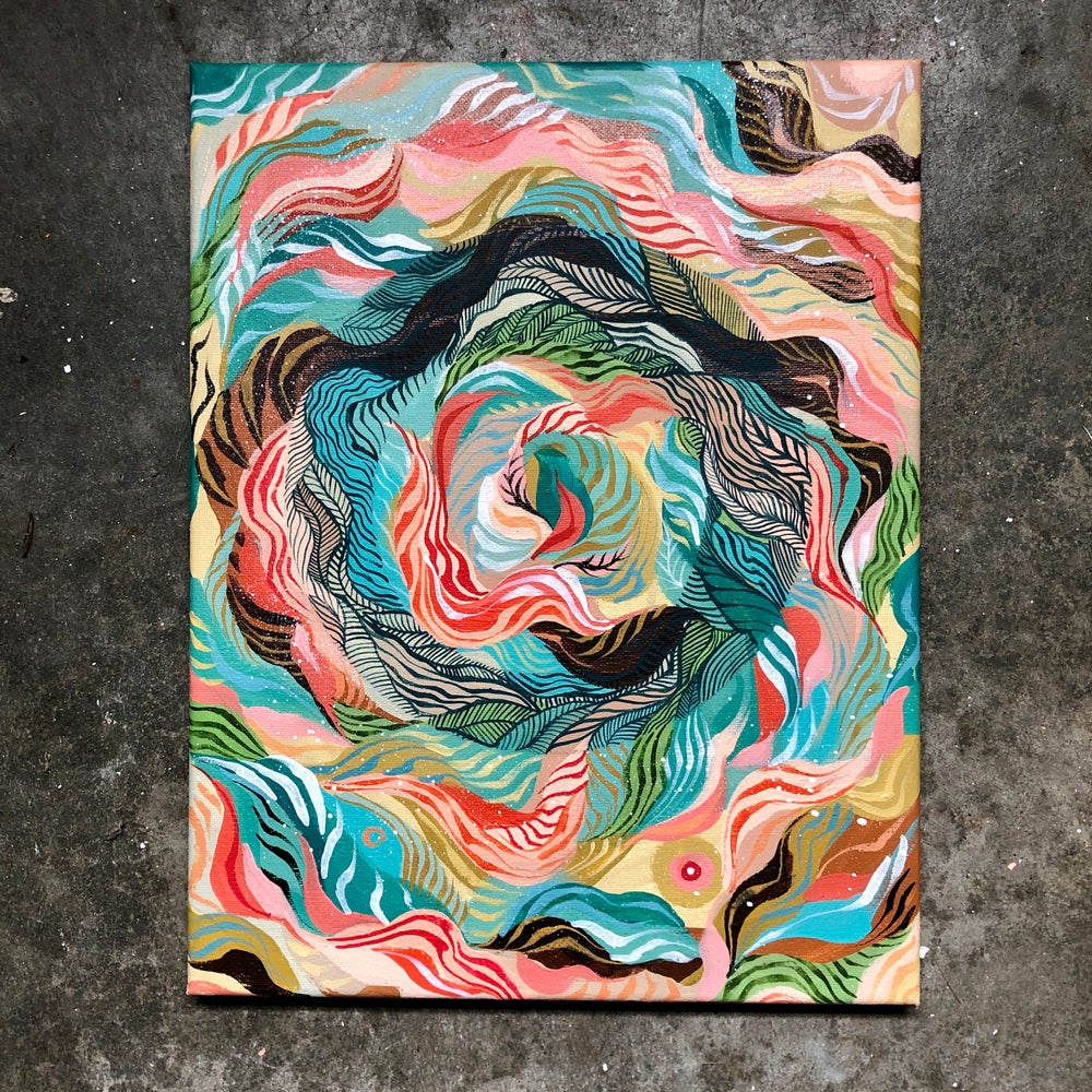 Image of Vortex Painting