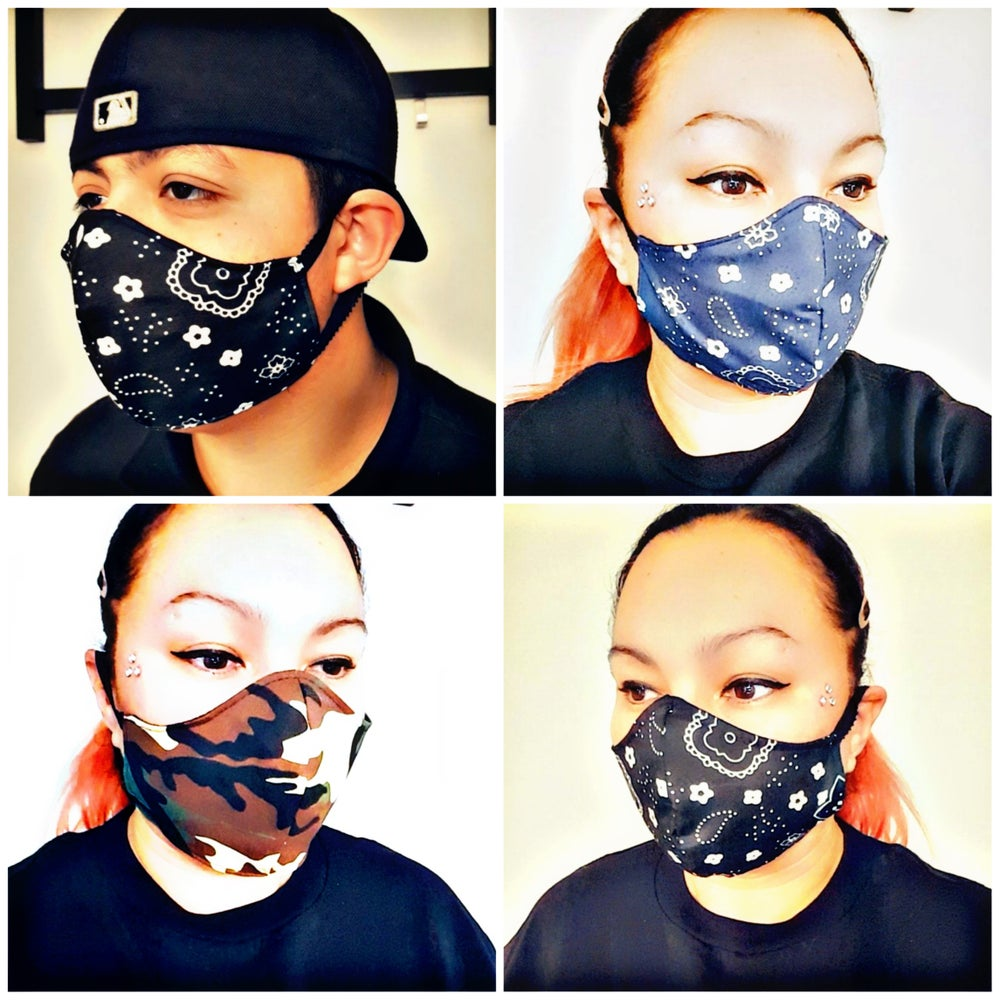 Image of Universal Bandanna ( Non-Medical Mask) Mask Covers