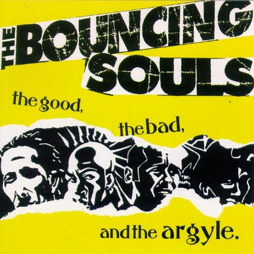 Image of Bouncing Souls - The Good, The Bad and The Argyle LP