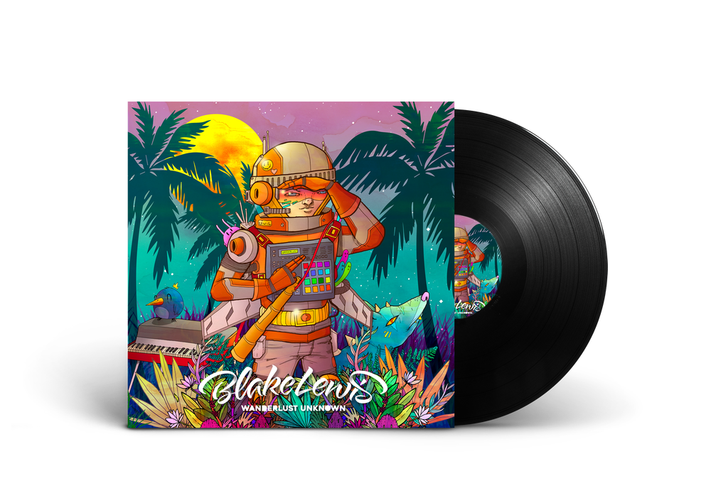 Image of WANDERLUST UNKNOWN - COLORED VINYL
