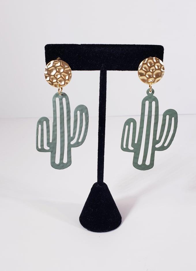 Image of Cactus Earrings