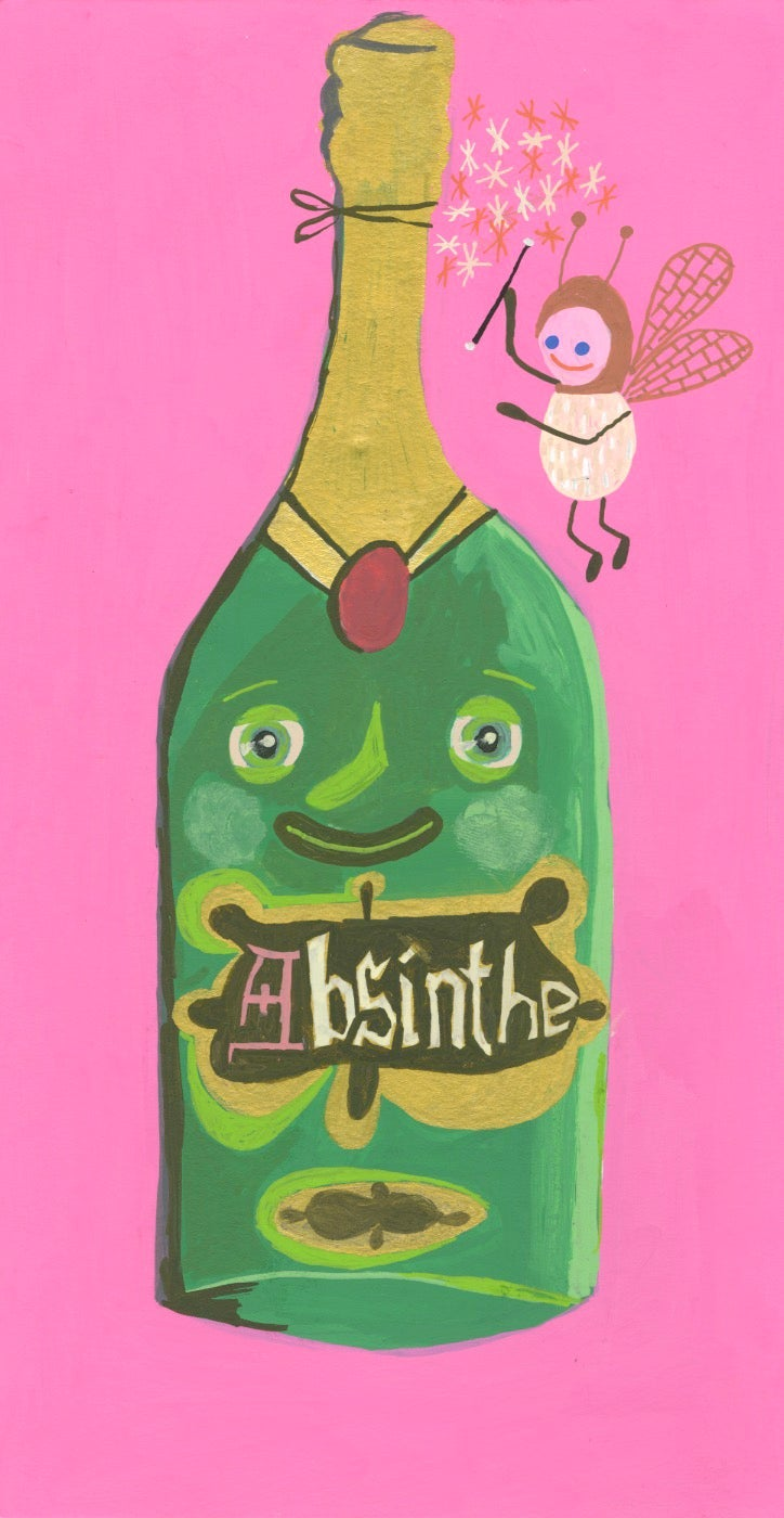 Image of Yum, yum - absinthe.