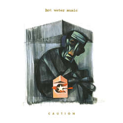 Image of Hot Water Music - Caution LP (color vinyl)