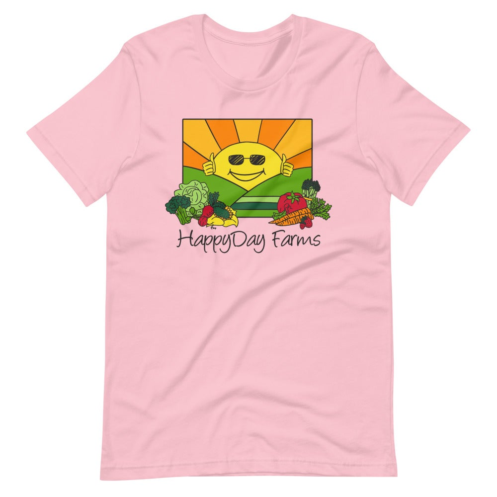 Image of Pink Happy Days T Shirt