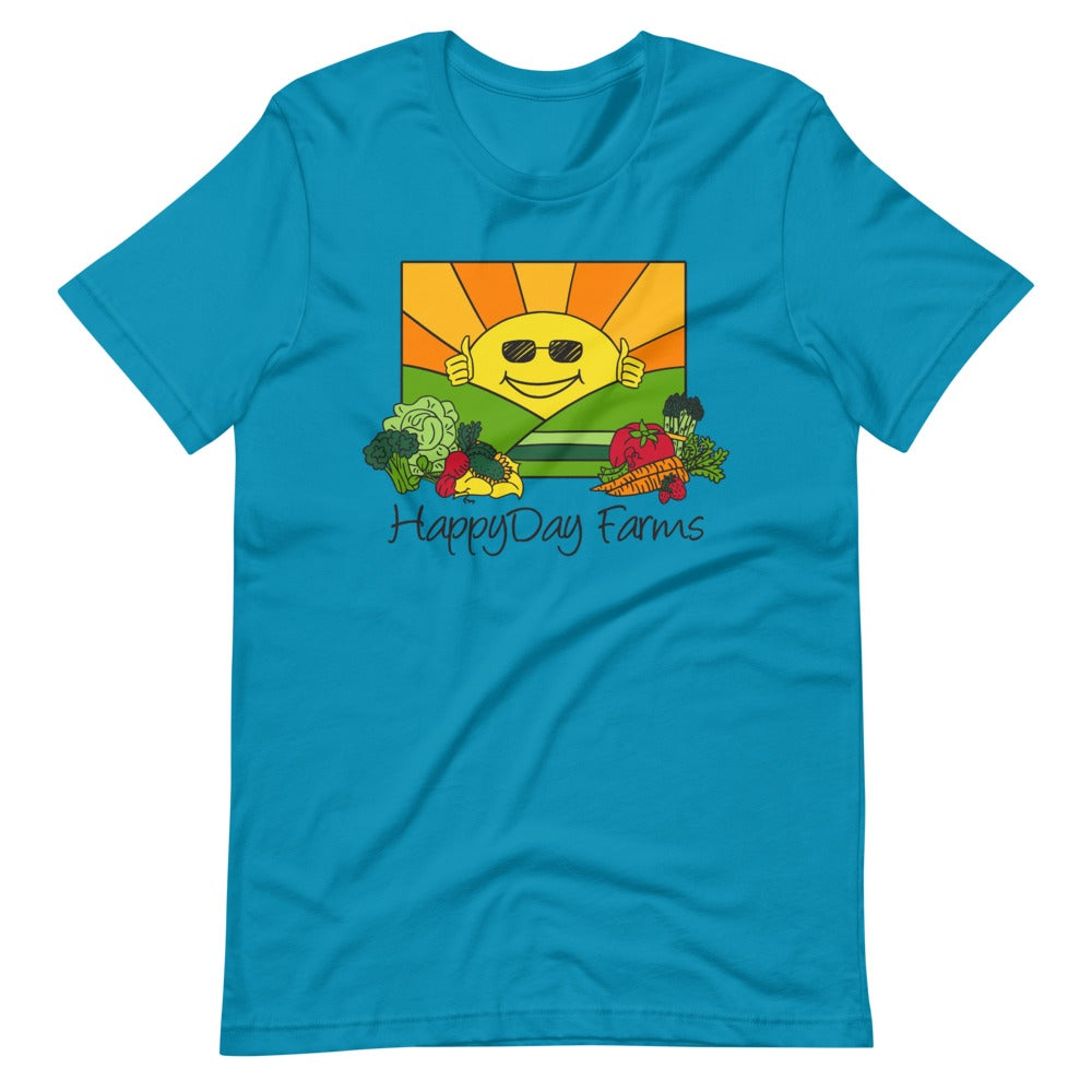 Image of Blue HappyDay T Shirt