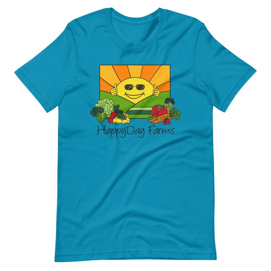 Image of Blue HappyDay T Shirt