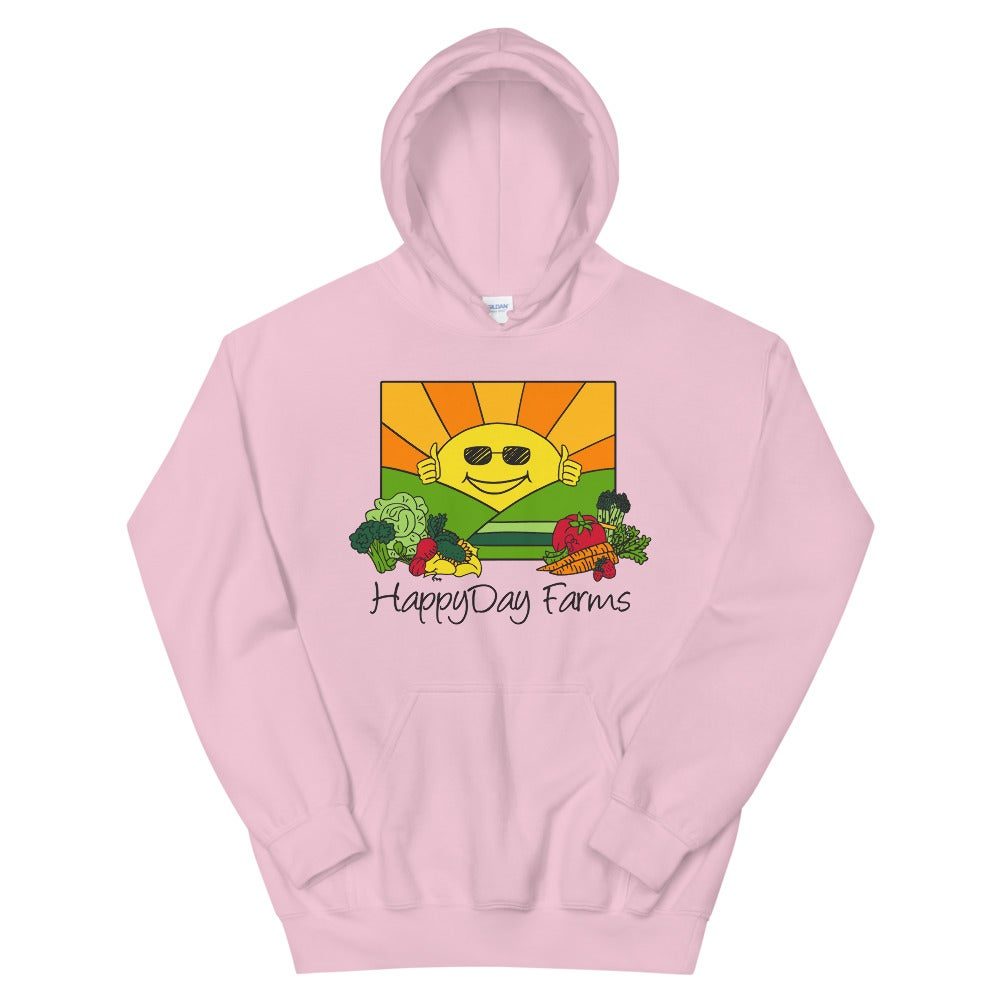 Image of Pink Happy Day Hoodie