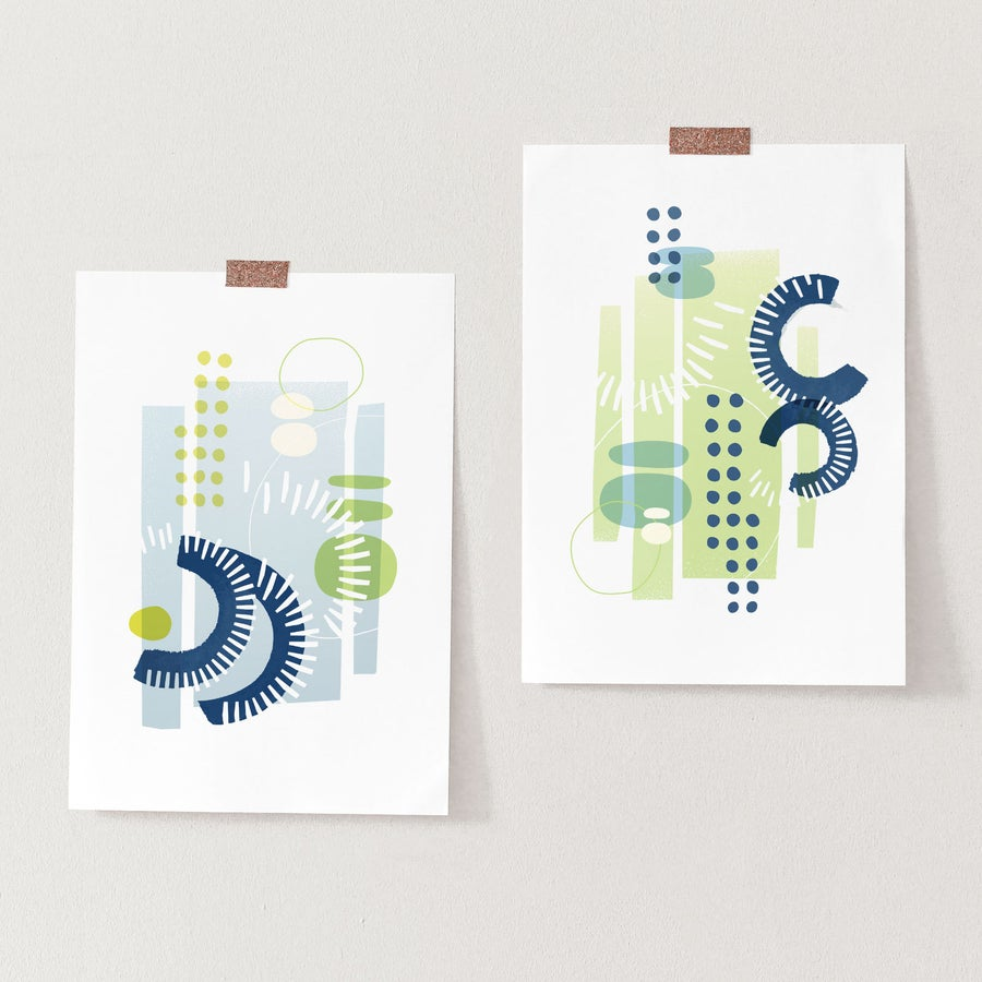 Image of Rhythm & Rhyme Series — 2 Print Set