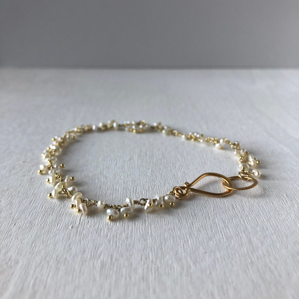 Image of Pearl Spray Bracelet