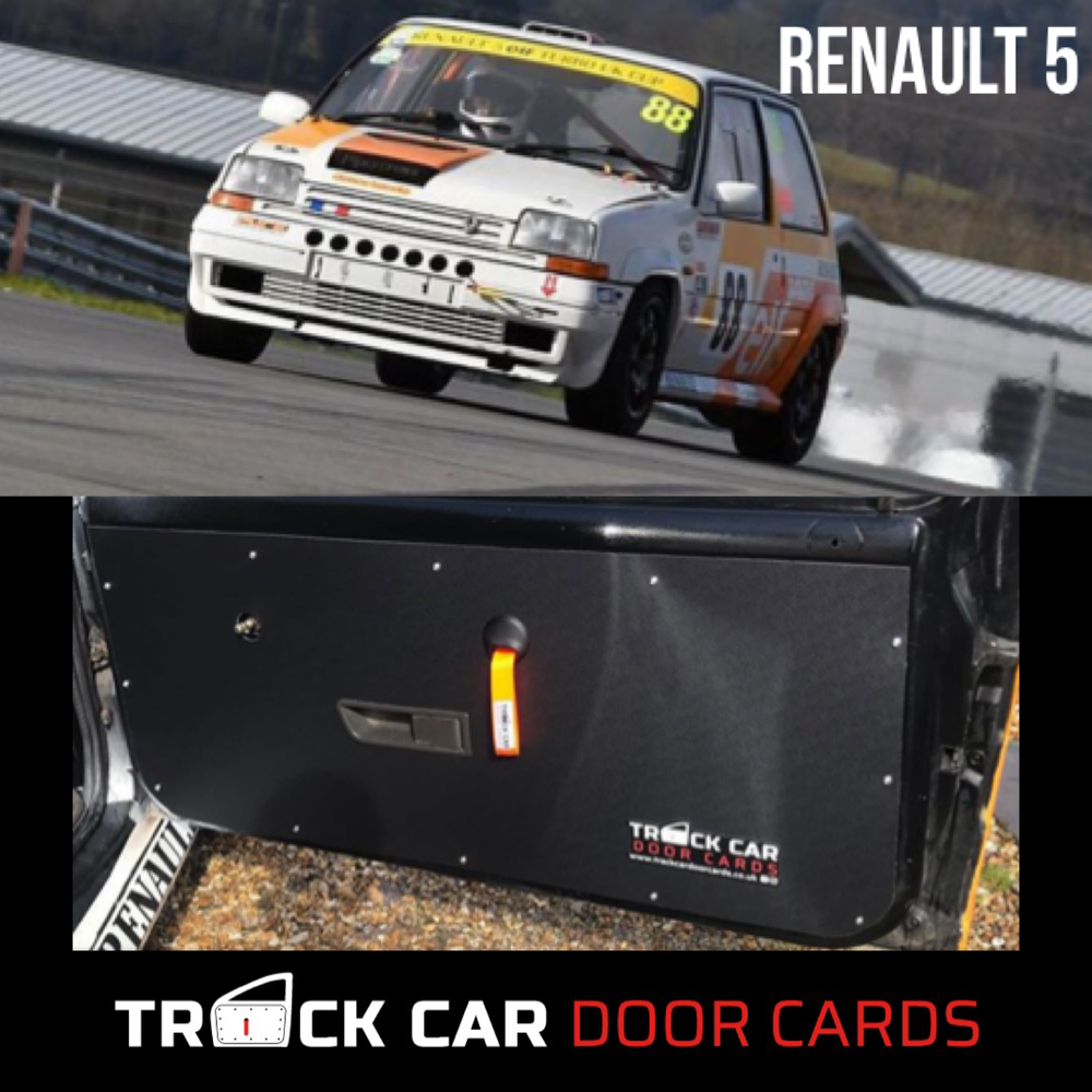 Image of Renault 5 - Track Car Door Cards