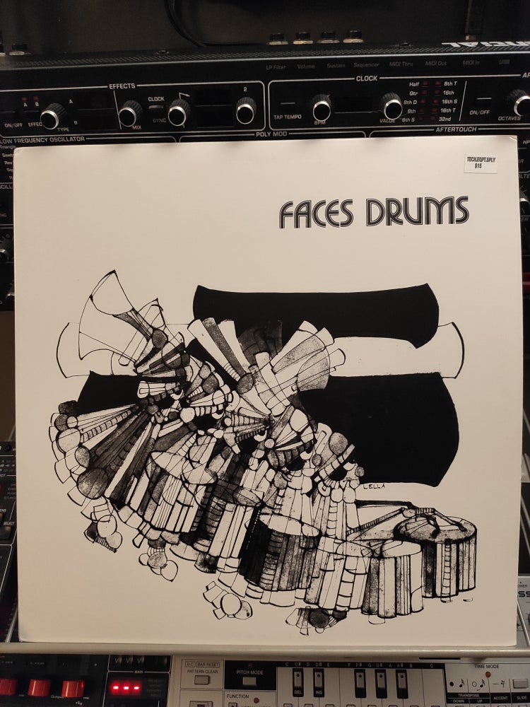Image of Alessandro Novaga ‎– Faces Drums