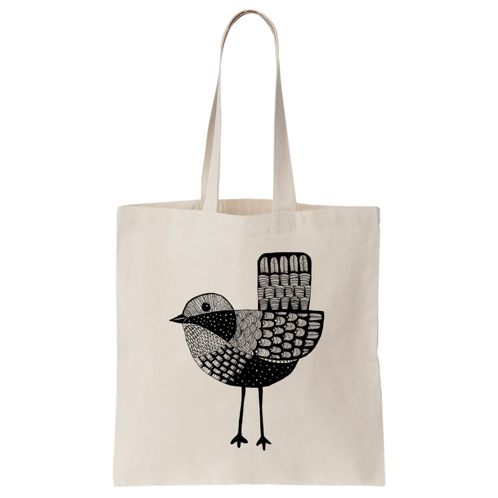 Image of Cotton Bag: Bird