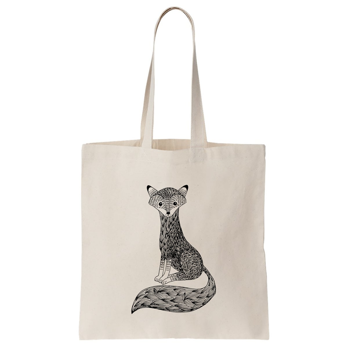 Image of Cotton Bag: Fox
