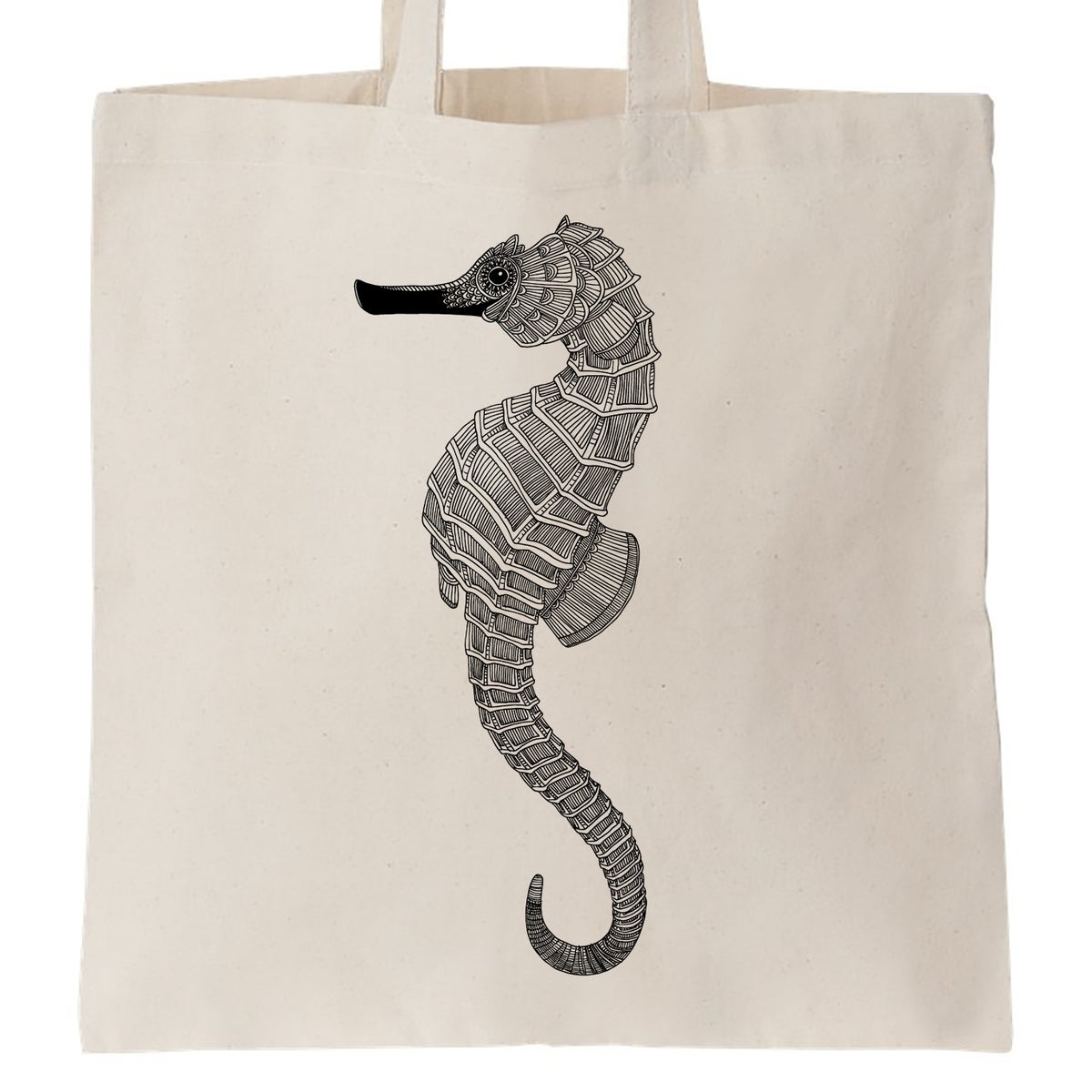 Image of Cotton Bag: Seahorse