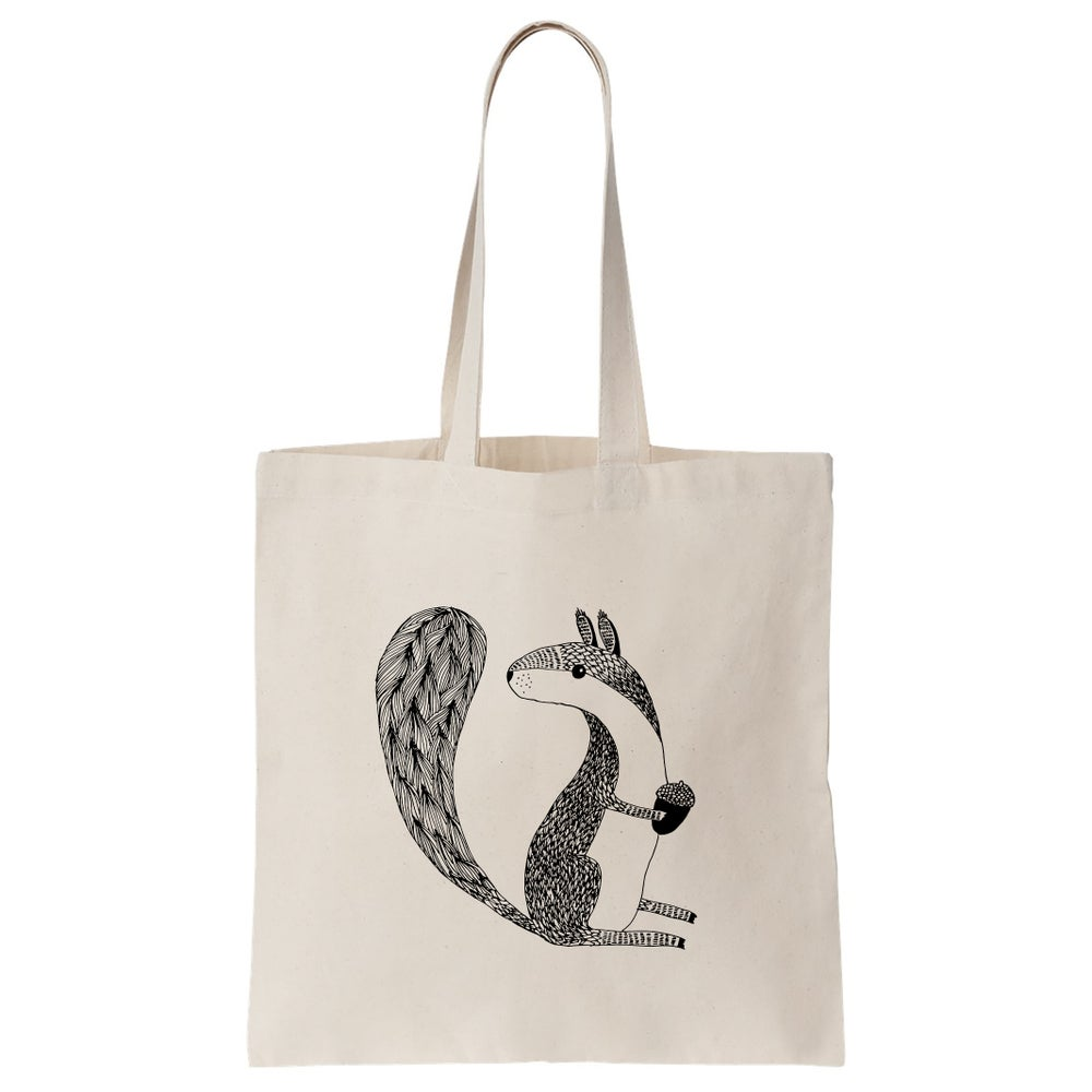 Image of Cotton Bag: Squirrel