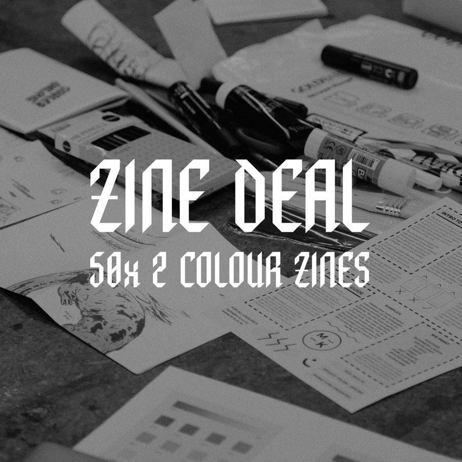 Image of 2 Colour Zine Deal
