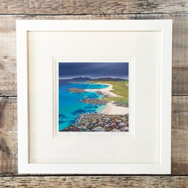 Image of Sanna bay greys giclee print