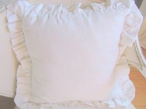 "Image of The ""Britta"" Ruffle Pillow"