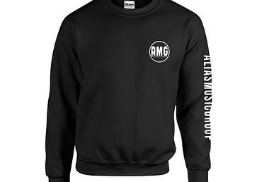 Image of  Black top crew necks