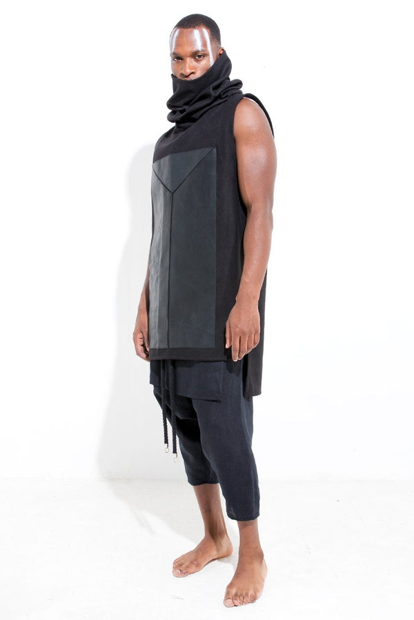 LEATHER FICTION SNOOD