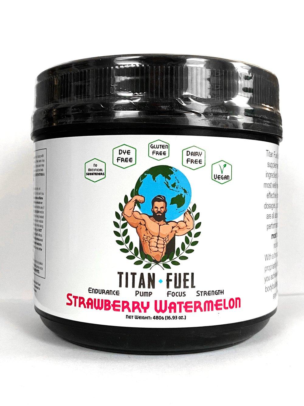 Titan Fuel Pre-Workout Strawberry Watermelon