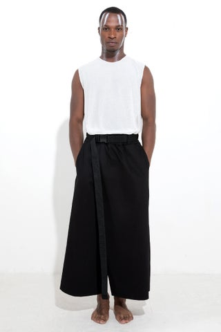 SINGLE WRAP TROUSERS