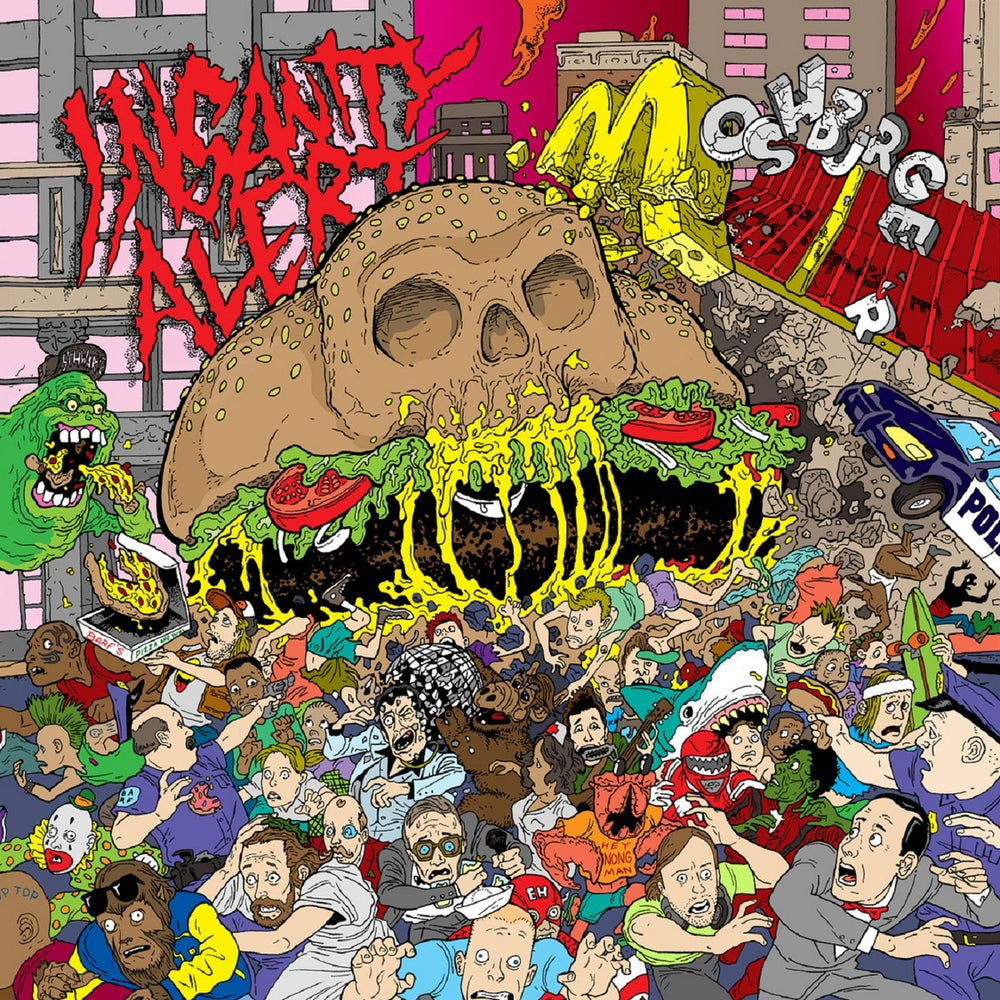 Image of Insanity Alert - Moshburger CD