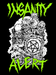 Image of NEW! Insanity Alert - Zombie Graveyard T-Shirt